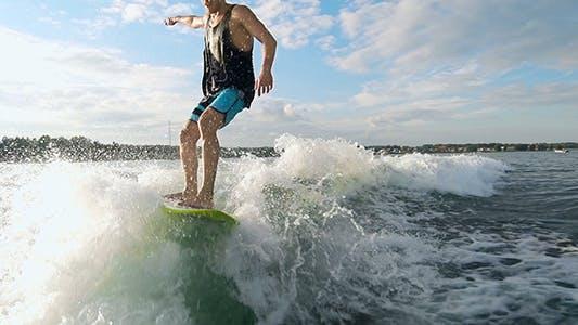 Thumbnail for Cool Wakesurfer
