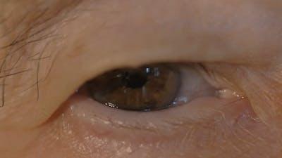 Eye Of An Elderly Woman