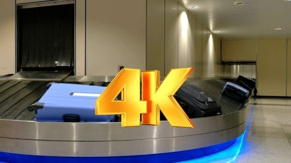 Thumbnail for Baggage Claim Area At The Airport