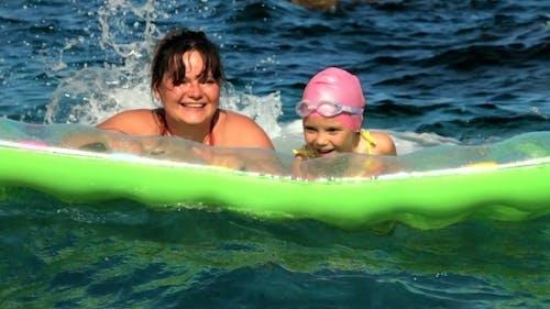 Freude und Freude zum Meer