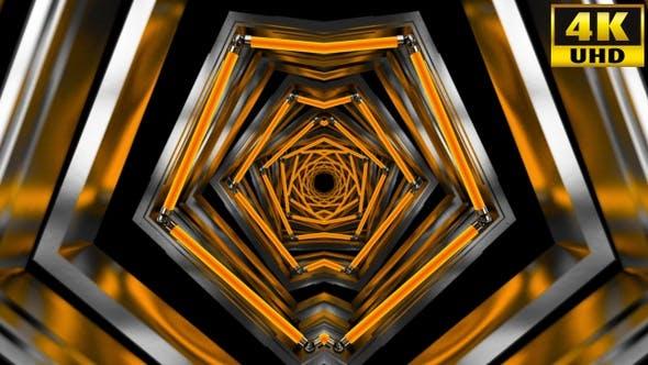 Thumbnail for Kaleidoscope Vj Loops Pack V76