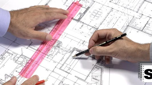 Thumbnail for Architects Checking Blueprints