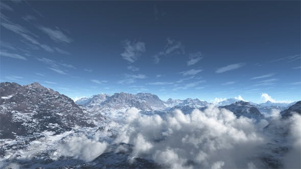 Thumbnail for Fliegen Sie auf dem Berg
