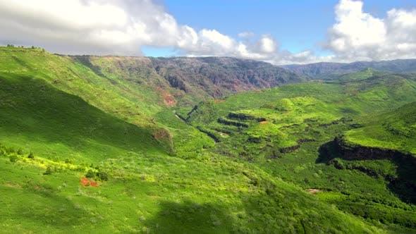 Thumbnail for Sunny Green Waimea Canyon