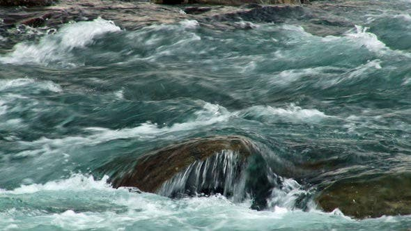 Thumbnail for Clean Water is Fast Flowing Mountain River