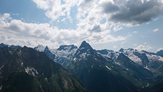 Thumbnail for Capped Mountains in the Snow with Alpine Meadows 6