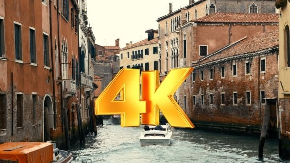 Thumbnail for Moving Traffic On Water Canals In Venice, Italy