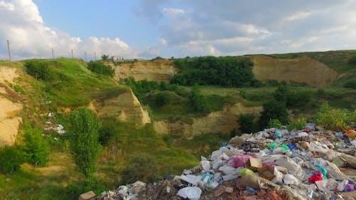 Environmental Pollution, Piles Of Garbage.