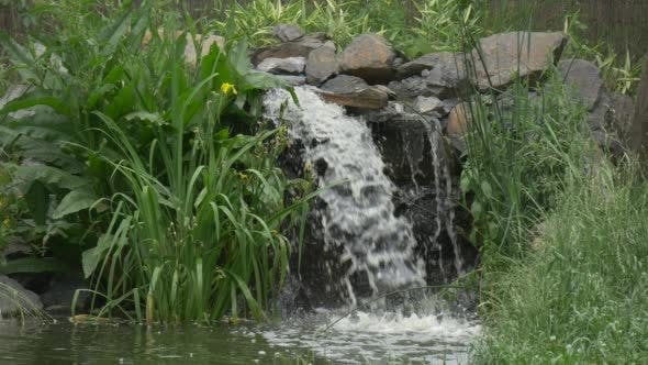 Thumbnail for Waterfall And River in The Park