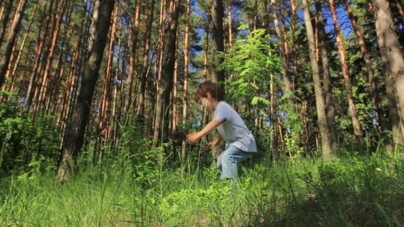 Thumbnail for Toddler Running Around The Meadow