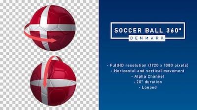 Soccer Ball 360º - Denmark