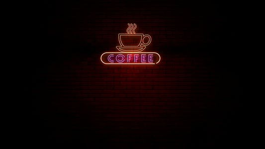 Coffee Neon Light Sign