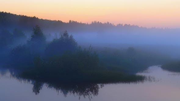 Thumbnail for Fog on River