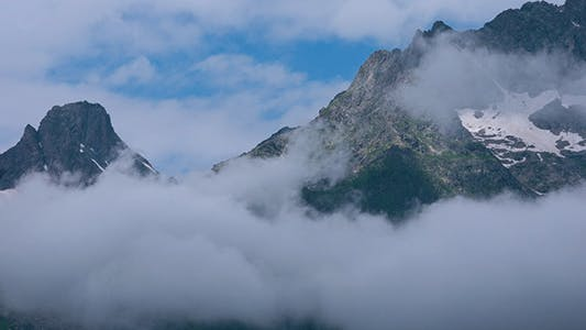 Thumbnail for Mountain in Moving Clouds 9