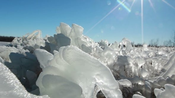 Cover Image for Winter Ice Blocks