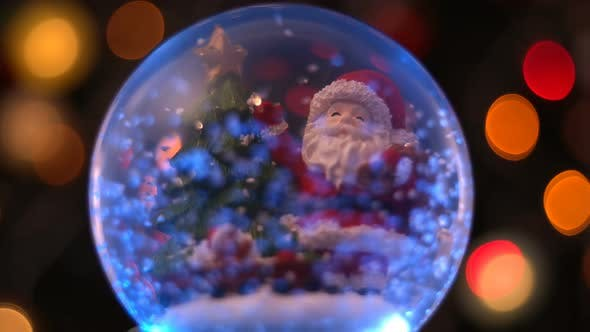 Thumbnail for Santa Claus Magical Sphere Christmas Concept 3