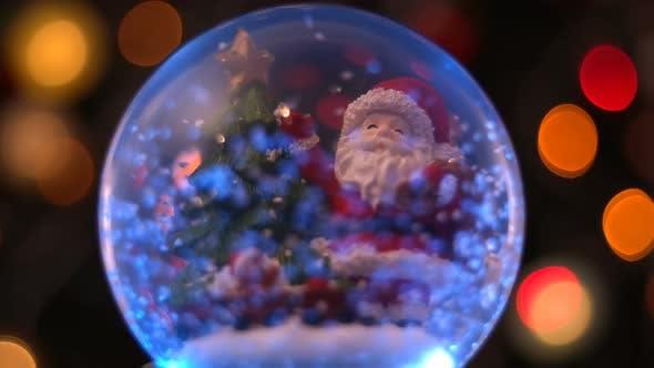 Thumbnail for Santa Claus Magical Sphere Christmas Concept 3
