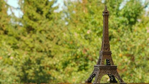 Eiffel Tower Souvenir Figure