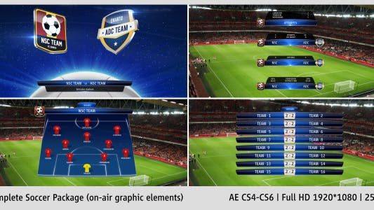 Complete On-Air Soccer Package