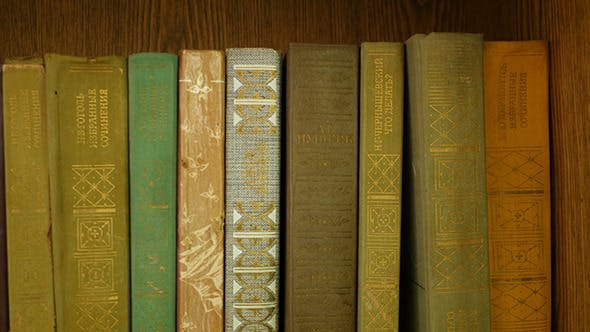 Thumbnail for Old Books On The Shelf