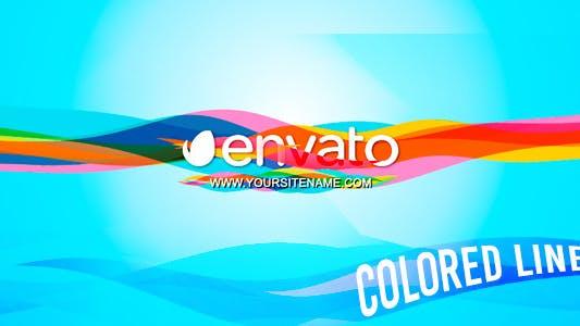 Thumbnail for Lignes colorées - Logo