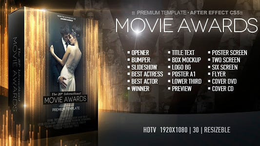 Thumbnail for Movie Awards Bundle