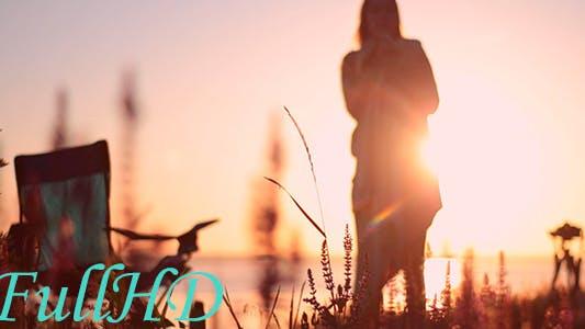 Thumbnail for Girl At Sunrise