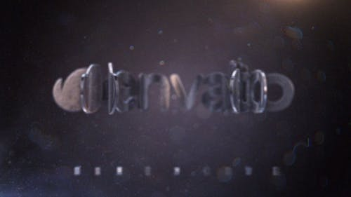 Cinematic Metal Logo