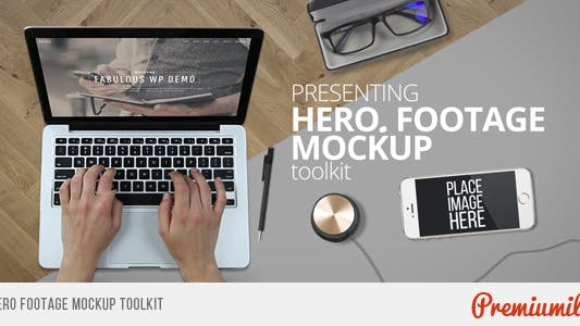 Thumbnail for Hero Footage Mockup Toolkit