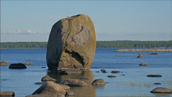 Thumbnail for Rock Formation on the Sea with Other Rocks