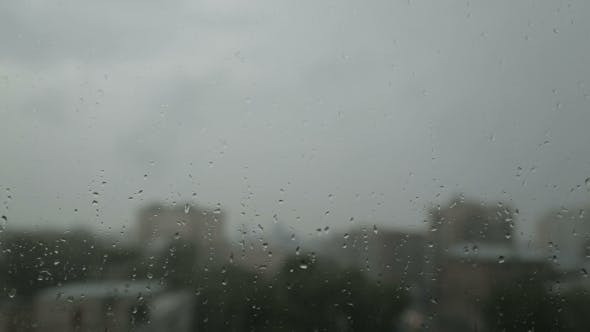 Thumbnail for Water Drops On Window