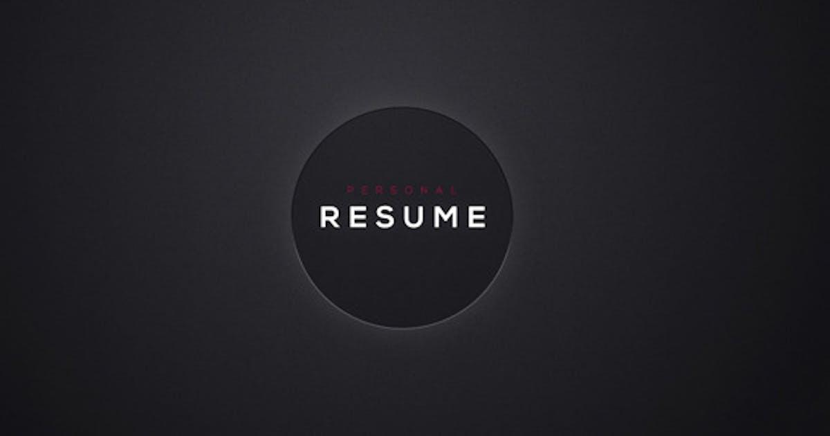 Download Personal Resume by EFEKT_Studio
