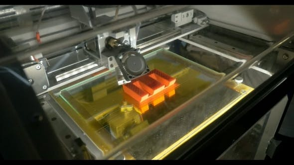 Thumbnail for 3D Printer Making Letter E