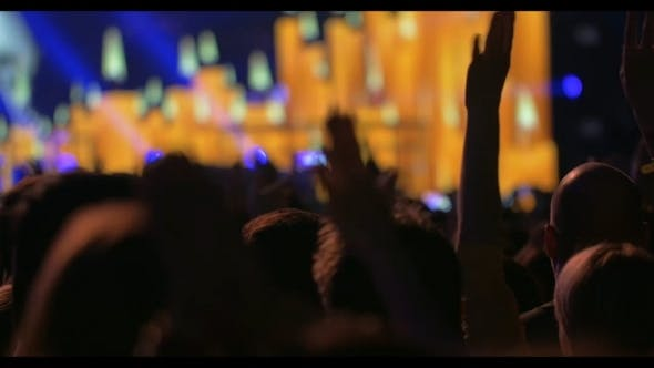 Thumbnail for People Enjoying The Music On The Concert