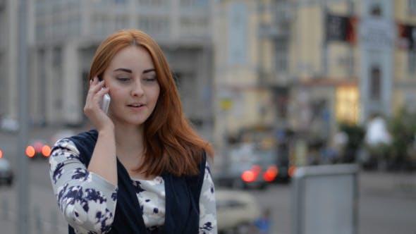 Thumbnail for Girl Talking on Phone