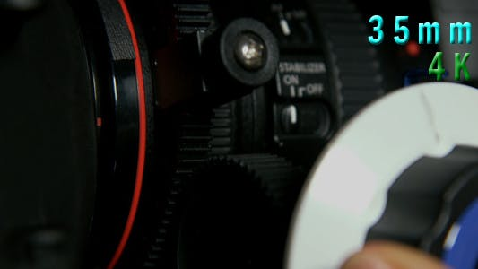 Thumbnail for Cinema Camera Rig With Lens 04
