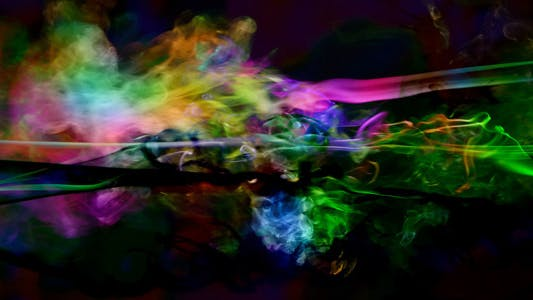 Thumbnail for Abstract Colorful Smoke Turbulence Elegant 3
