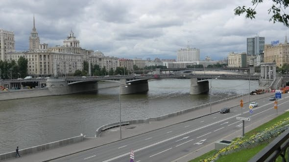 Thumbnail for View Of The Borodinsky Bridge, Moskva-River