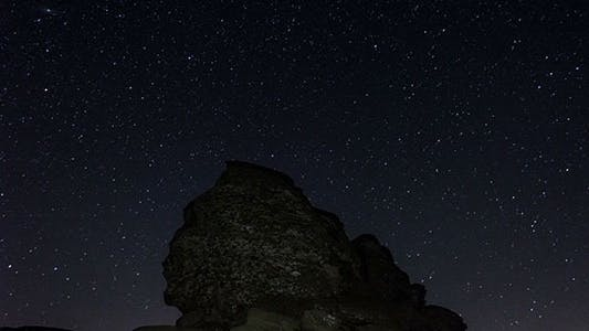 Thumbnail for The Sphinx Of Bucegi, Night With Clear Sky