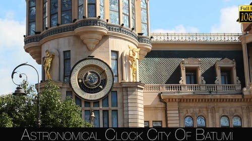 Astronomical Clock City Of Batumi