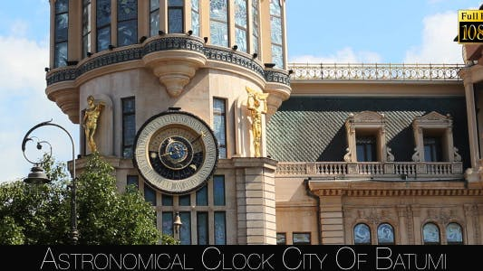 Cover Image for Astronomical Clock City Of Batumi