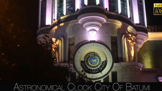 Thumbnail for Astronomical Clock City Of Batumi 2