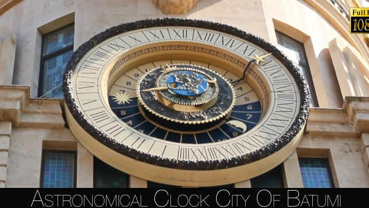 Thumbnail for Astronomical Clock City Of Batumi 4