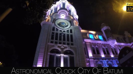 Thumbnail for Astronomical Clock City Of Batumi 5