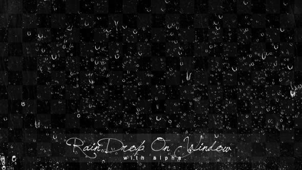 Thumbnail for Rain Dropping On Window