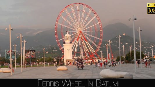 Cover Image for Ferris Wheel In Batumi 13