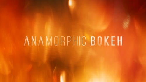 Anamorphic Bokeh