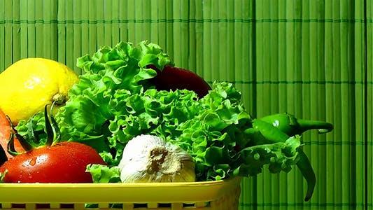 Thumbnail for Vegetables on Green Background