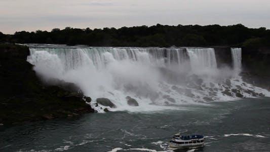 Thumbnail for Niagara Falls US side full HD