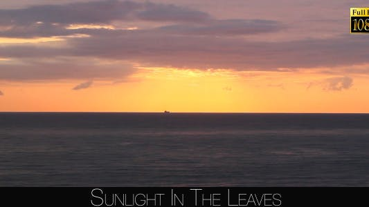 Cover Image for Sunset On The Sea
